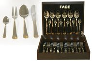 Face Набор столовых приборов на 6 персон London, 24 пр., в деревянной коробке
