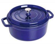 Staub Кокот круглый, 22 см (2.6 л), фиолетовый