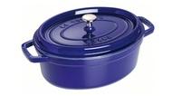 Staub Кокот овальный, 27 см (3.2 л), фиолетовый