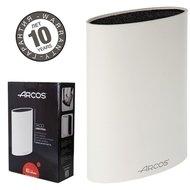 Arcos Подставка для ножей универсальная, белая