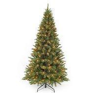 Triumph Tree Ель Лесная красавица стройная, 185 см, 168 ламп, зеленая