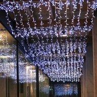 Globall Concept Светодиодный занавес с мерцианием, 2x6 м, 980 белых ламп