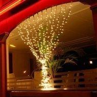 Globall Concept Светодиодный занавес с мерцанием, 2x3 м, 490 теплых белых диодов