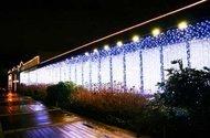 Globall Concept Светодиодный занавес влагозащищенный, 2x3 м, 490 белых диодов