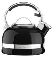 KitchenAid Чайник наплитный со свистком, черный