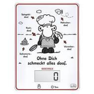 Soehnle Весы электронные кухоннные Sheepworld Ohne Dich Digital, белые