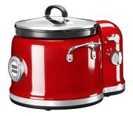 KitchenAid Мультиварка (4.25 л), с мешалкой, 12 программ, 3 скорости, красная