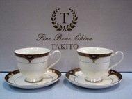 Takito Набор кофейных чашек Империал (0.1 л) на 2 персоны, 4 пр.