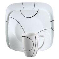 Corelle Набор посуды Simple Lines, 16 пр.