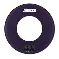 Zanussi Весы кухонные цифровые Bologna, 18х18х1.8 см, фиолетовые