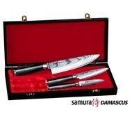 Samura Набор ножей Samura Damascus в подарочной коробке, 3 пр., вес 1400 г