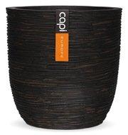 Capi Кашпо Nature Couple, коричневое, 28х26 см