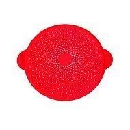 De Buyer Крышка перфорированная от брызг Инвентарь, 28 см, красная 4121.28