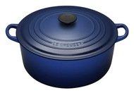 Le Creuset Кокот круглый, 26 см (5.3л) синий