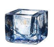 Kosta Boda Подсвечник Brick, 8.5х7.5 см, синий