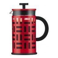 Bodum Кофейник с прессом Eileen (0.35 л), красный, 13х8х15.8 см