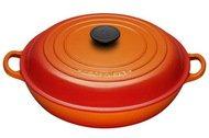 Le Creuset Сотейник с крышкой, 30 см (3.2л) оранжевый