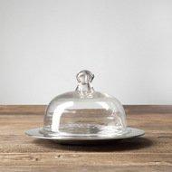 Roomers Емкость для масла, 21.5х21.5х13.5 см, прозрачная