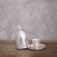 Roomers Пашотница, 9х9х13 см, серебряная