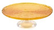 IVV Блюдо для торта на ножке Multicolor, 32 см, оранжевое