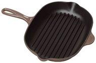 Le Creuset Сковорода-гриль квадратная, 26 см, коричневая