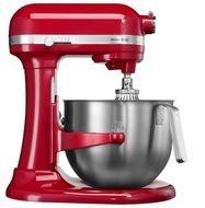 KitchenAid Миксер планетарный профессиональный Heavy Duty, дежа (6.9 л), 3 насадки, красный