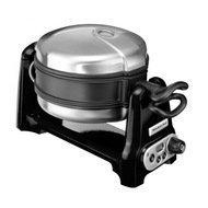 KitchenAid Вафельница круглая, 19 см, 4 сегмента, черная