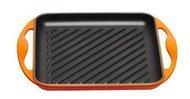 Le Creuset Гриль квадратный, 24 х 24 см, оранжевый
