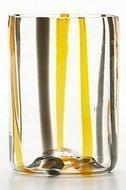 Zafferano Тумблер Тираке (350 мл), черно-оранжевый