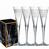Nachtmann Набор фужеров для шампанского Delight (165 мл), 4 шт.