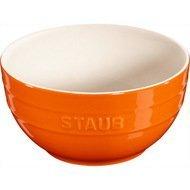 Staub Миска большая (1.2 л), 17 см, оранжевая