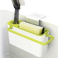 Joseph&Joseph Органайзер для раковины Sink Aid, навесной, 19.5х11х13.5 см, бело-зеленый