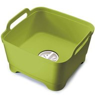 Joseph & Joseph Контейнер для мытья посуды Wash&Drain, 31х20х30 см, зеленый