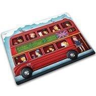 Joseph&Joseph Доска для готовки и защиты рабочей поверхности London bus, 40х30х0.7 см