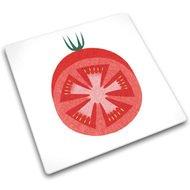 Joseph&Joseph Доска для готовки и защиты рабочей поверхности Red Tomato, 30х30х0.7 см
