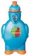 Бутылка для воды (350 мл), 10х5.8х17.5 см, цвета в ассортименте