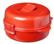Sistema Омлетница-яйцеварка Microwave (271 мл), 12.5х13.7х6.7 см, красная