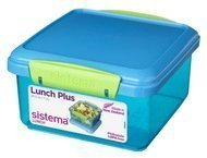 Sistema Контейнер Lunch (1.2 л), 15.5х15х8 см, цвета в ассортименте