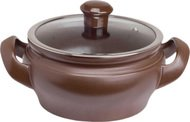 Ceraflame Кастрюля Terrine со стеклянной крышкой (2 л), 18 см, шоколад