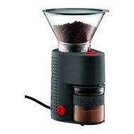 Bodum Электрическая жерновая кофемолка Bistro, черная