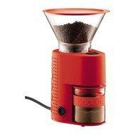 Bodum Электрическая кофемолка Bistro, красная