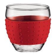 Bodum Набор стаканов Pavina (0.1 л), красный, 2 шт.
