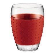 Bodum Набор бокалов Pavina (0.45 л), красный, 2 шт.