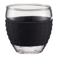 Bodum Набор бокалов Pavina 0.35 л. 2 шт. черный