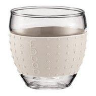 Bodum Набор бокалов Pavina (0.35 л), 8.2х8.2х8.7 см, белый, 2 шт.