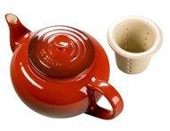 Le Creuset Чайник с ситечком (0.65л) бордовый