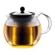 Bodum Чайник заварочный с прессом Assam 1 л. хром