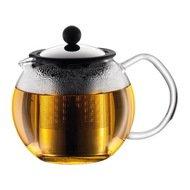 Bodum Чайник заварочный с прессом Assam (0.5 л), хром