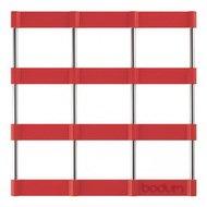 Bodum Подставка под горячее Bistro, 17.5х17.5 см, красная