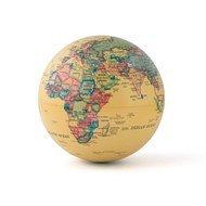 Balvi Глобус вращающийся Magic 360°, 14х14х14 см, бежевый